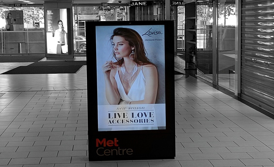 Met Centre LED Digital Signage
