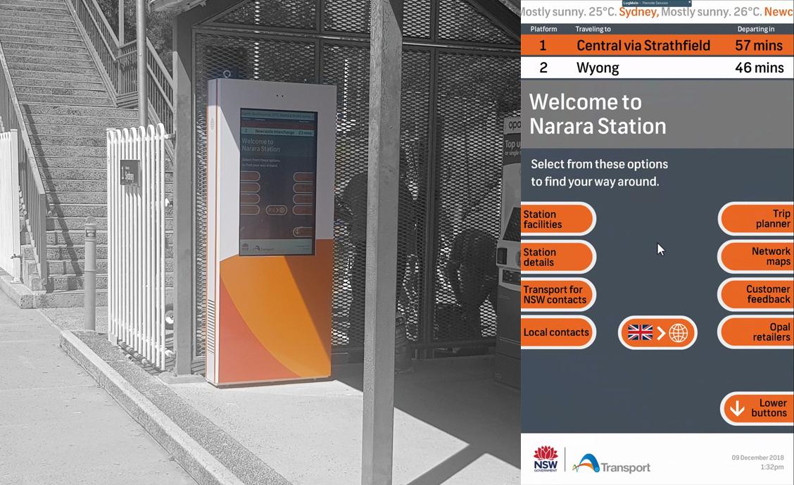 NSW Transport wayfinding