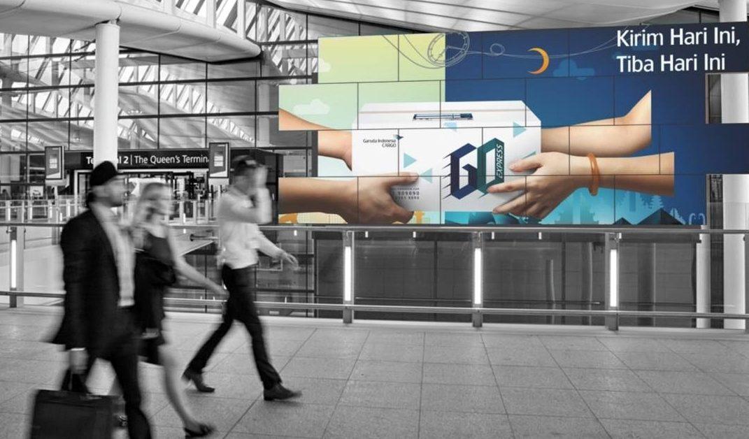 Bali International Airport Digital Signage