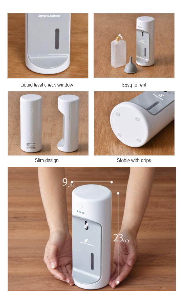 Best Auto hand sanitiser dispenser